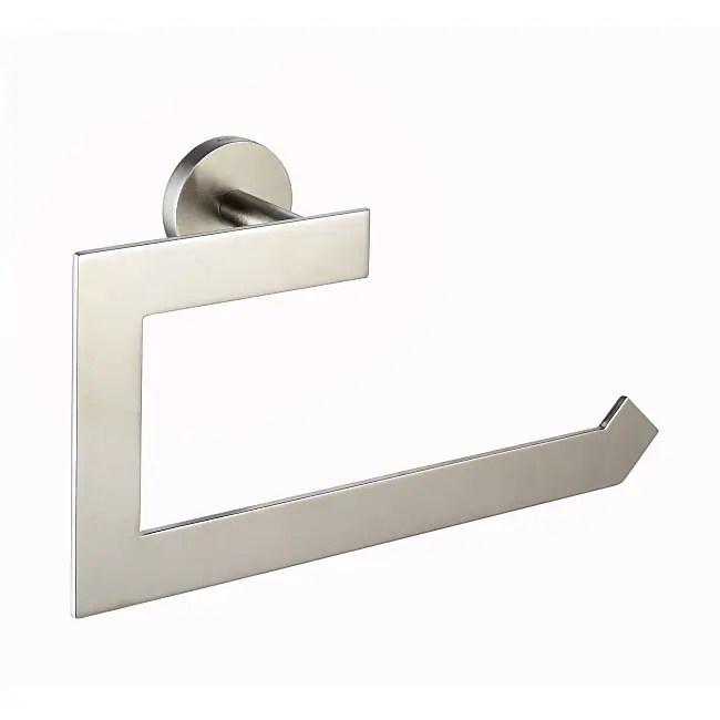 KRAUS Bathroom Accessories - Towel Ring in Brushed Nickel