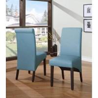 blue parsons chair - 28 images - parsons chair teal blue ...