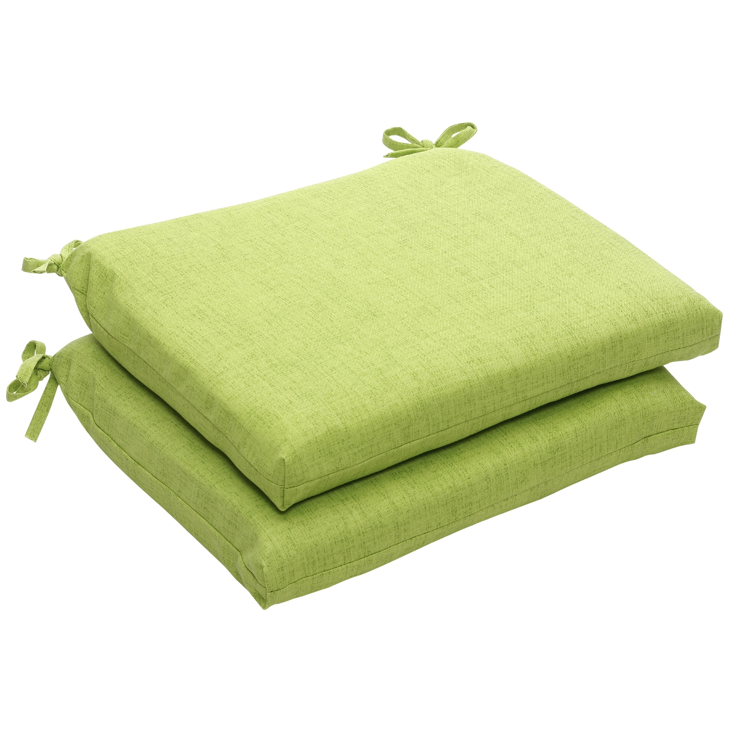 green chair cushions ciao baby portable travel high outdoor textured solid squared seat set of