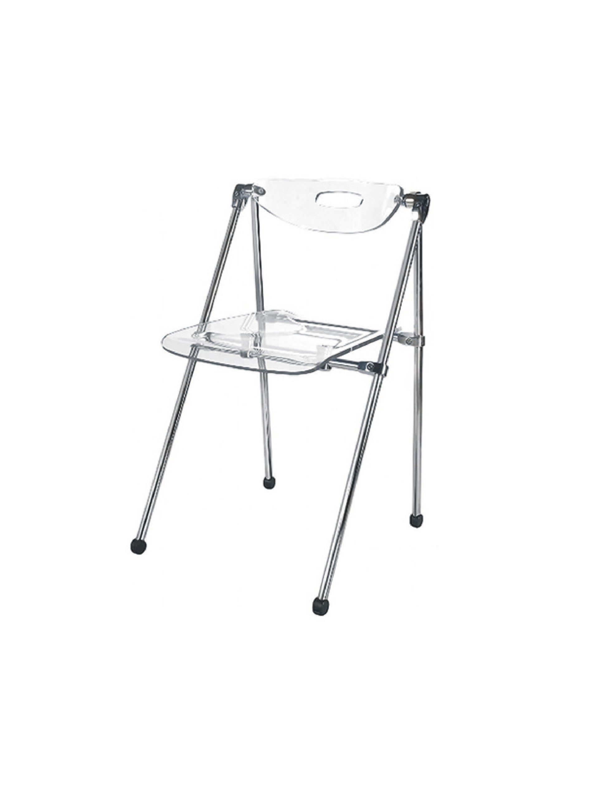 Acrylic Folding Chairs Acrylic Folding Chair Set Of 2 Free Shipping Today