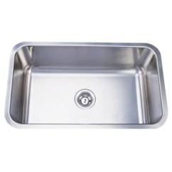 Deep Kitchen Sink Stainless Steel Shelf With Hooks Shop 30 Inch Extra Free Shipping Today Overstock Com 6542393