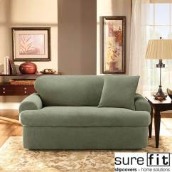Sure Fit Stretch Pique 3 Piece T Cushion Sofa Slipcover Lexington Furniture Reviews Shop Free Shipping Today Overstock Com 6545318