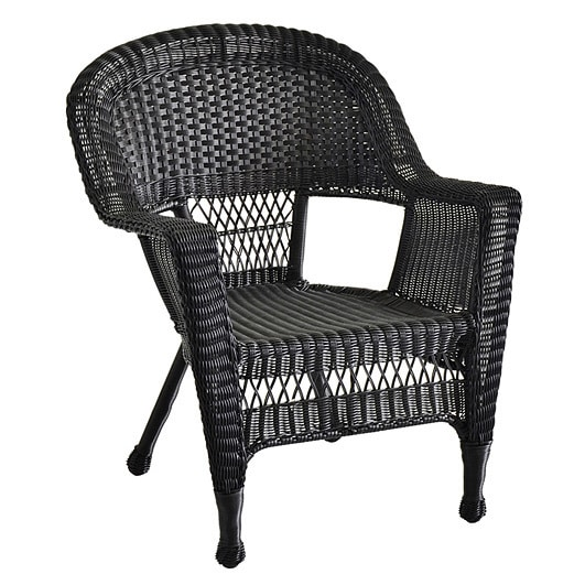wicker patio chairs set of 4