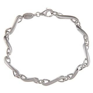Shop Fossil Jewelry Women's Sterling Silver Bracelet