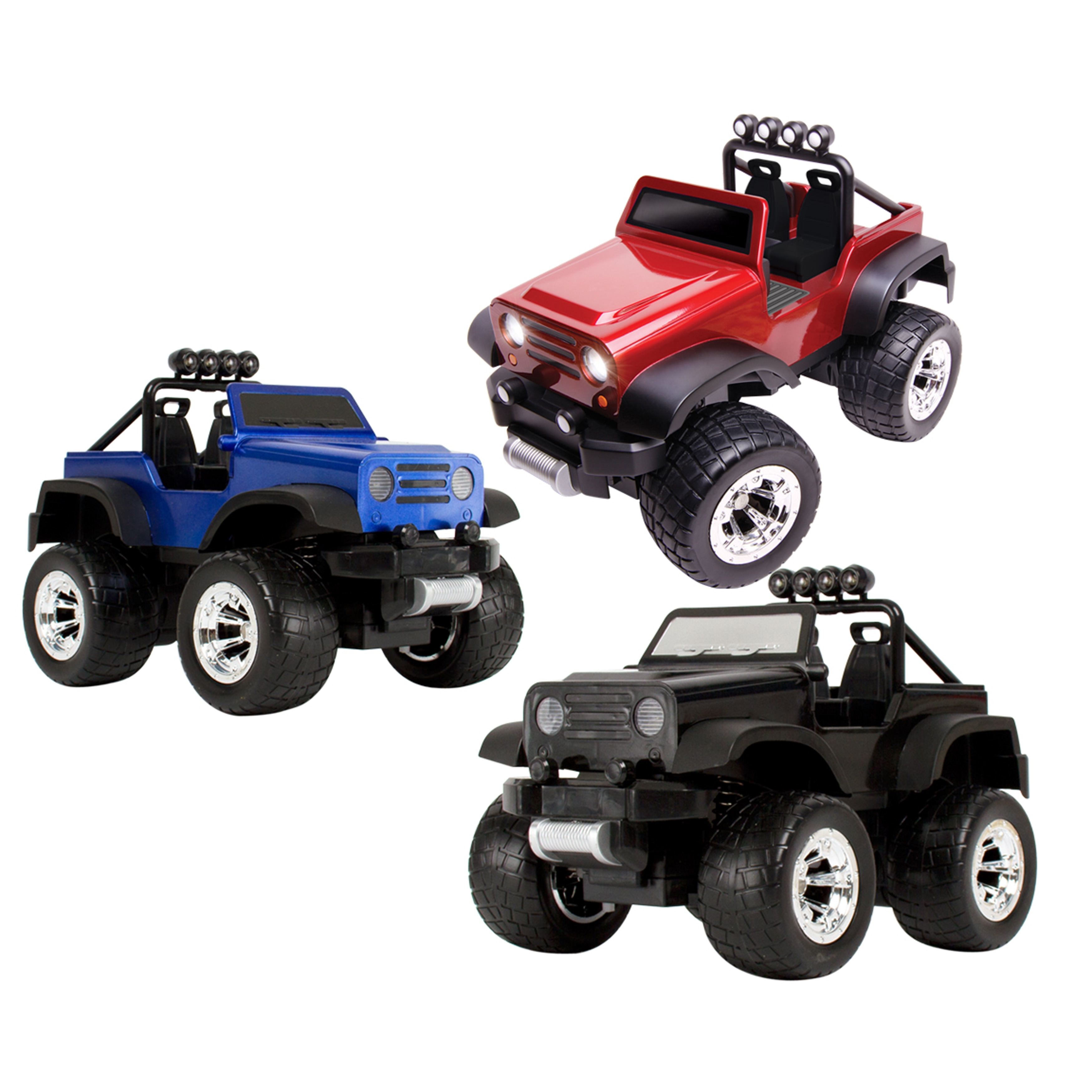 Blue Hat Remote controlled f road Safari Truck with LED Lights