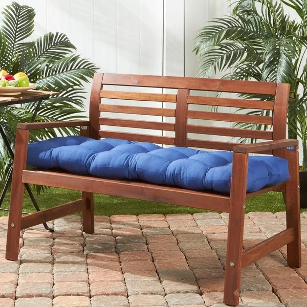 51 Inch Outdoor Marine Blue Bench Cushion Free Shipping