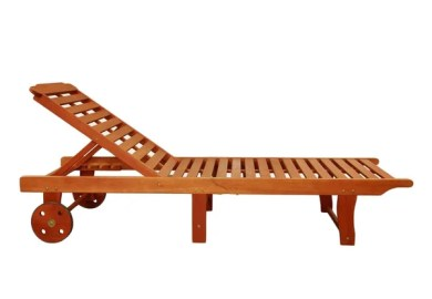 Wood Outdoor Chaise Lounges Overstock