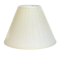 Crown Lighting Off-white Pleated Empire Lampshade ...