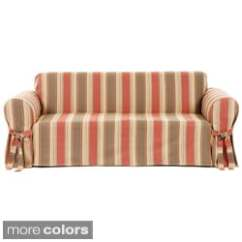 Sure Fit Durham One Piece Sofa Slipcover Italian Specialists Preston Loveseat Slipcovers - Overstock Shopping The Best Prices ...