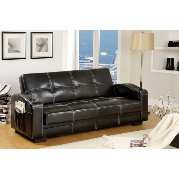 best mattress topper for a sofa bed light blue leather recliner shop furniture of america max multi-functional futon ...