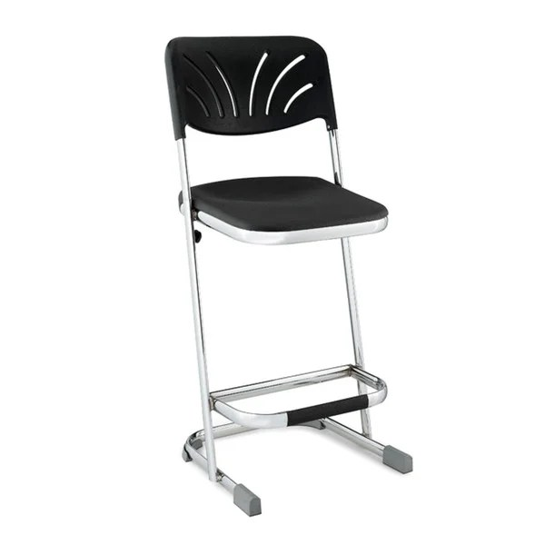 z shaped high chair steel leather shop nps 24 inch stool on sale free shipping today overstock com 6618025