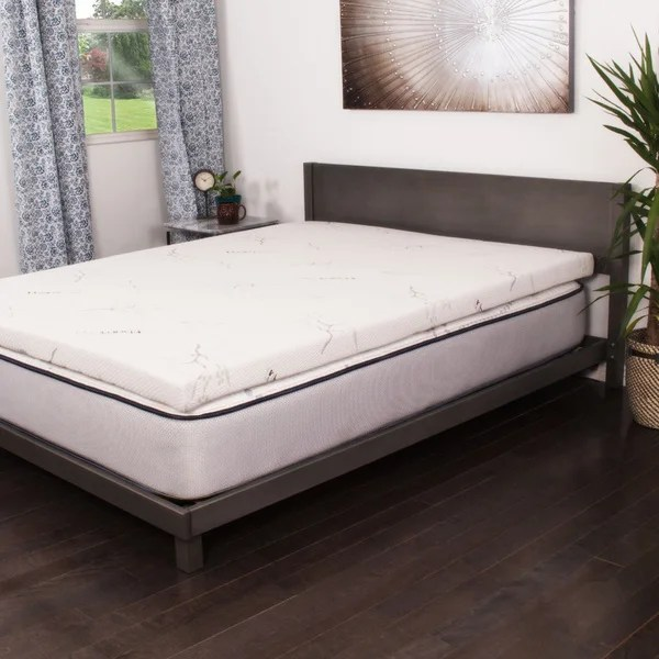 Nuform Talalay Latex 3 Inch Mattress Topper