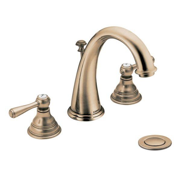 Moen T6125AZ Kingsley 2handle High Arc Antique Bronze