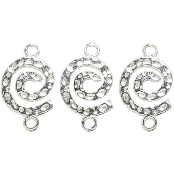Shop Metal Findings Silver-plated Spiral Connectors (Pack