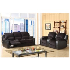 Tyson Sectional Sofa Raymour Flanigan Sofas 2 Piece Recliners Microfiber Reclining Set