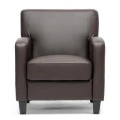 Darvis Leather Recliner Club Chair Brown Christopher Knight Home Urban Outfitters Chairs Peacock Modern - Free Shipping Today Overstock.com 14216120