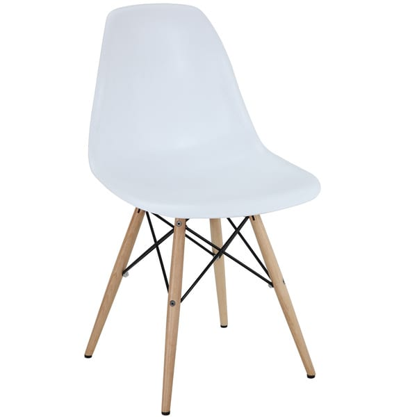 white plastic dining chairs children s couch and chair set shop with wooden base free shipping