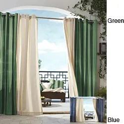 Delightful Gazebo Grommet Top 84 Inch Indoor Outdoor Curtain Panel Free