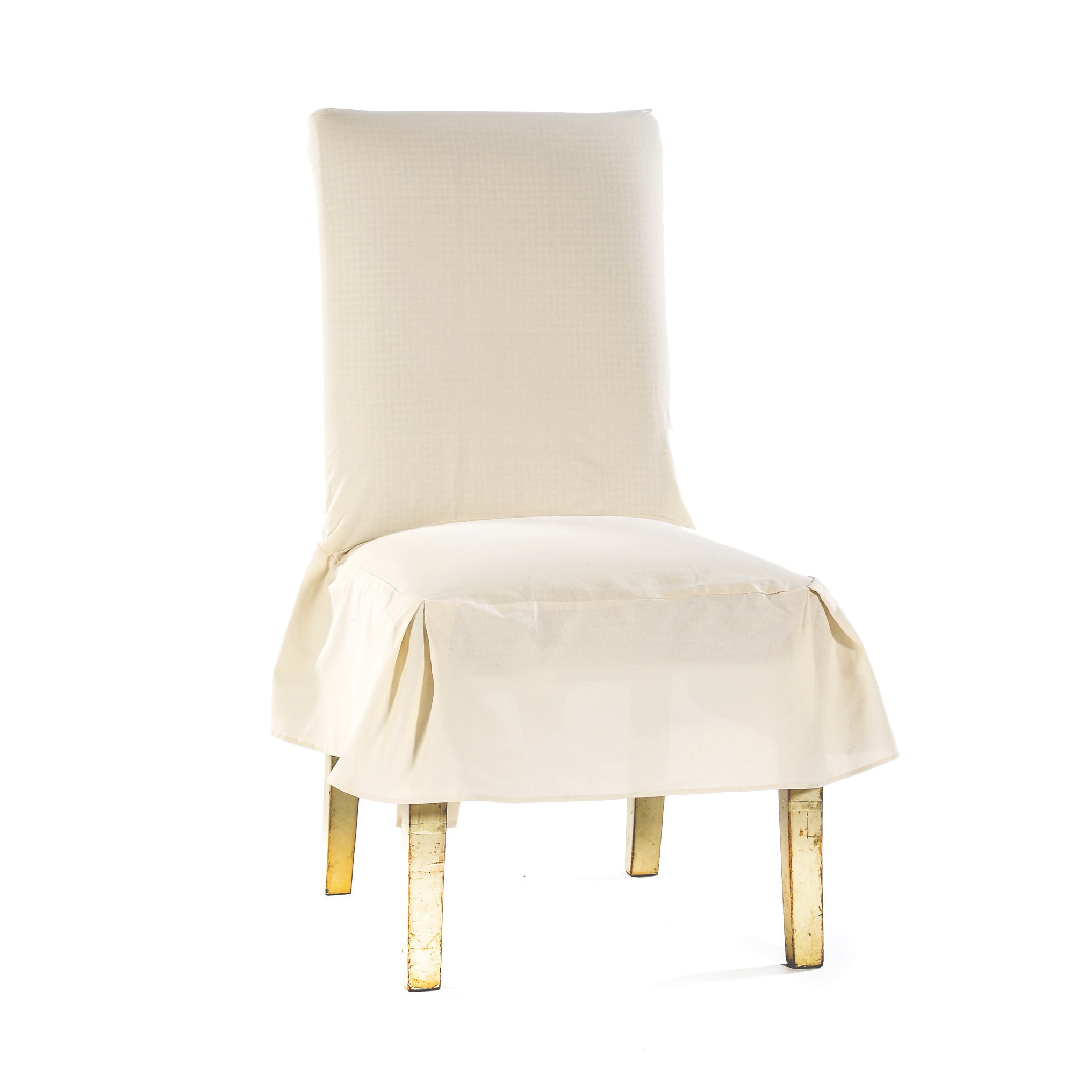 Dining Chair Slipcover Classic Cotton Duck Dining Chair Slipcovers Set Of 2 Ebay