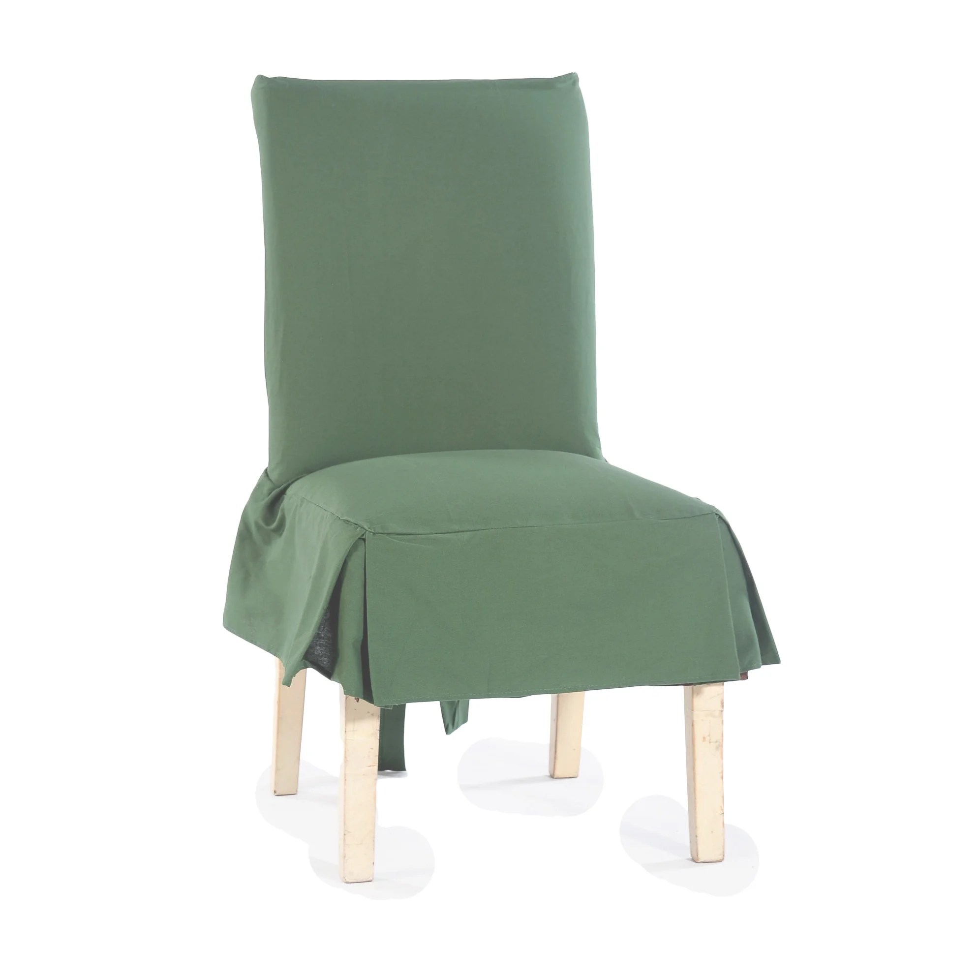 dining chair covers set of 6 india wedding kent classic cotton duck slipcovers 2 ebay