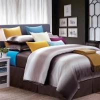 Mocha Galaxy California King-size 8-piece Cotton Comforter ...