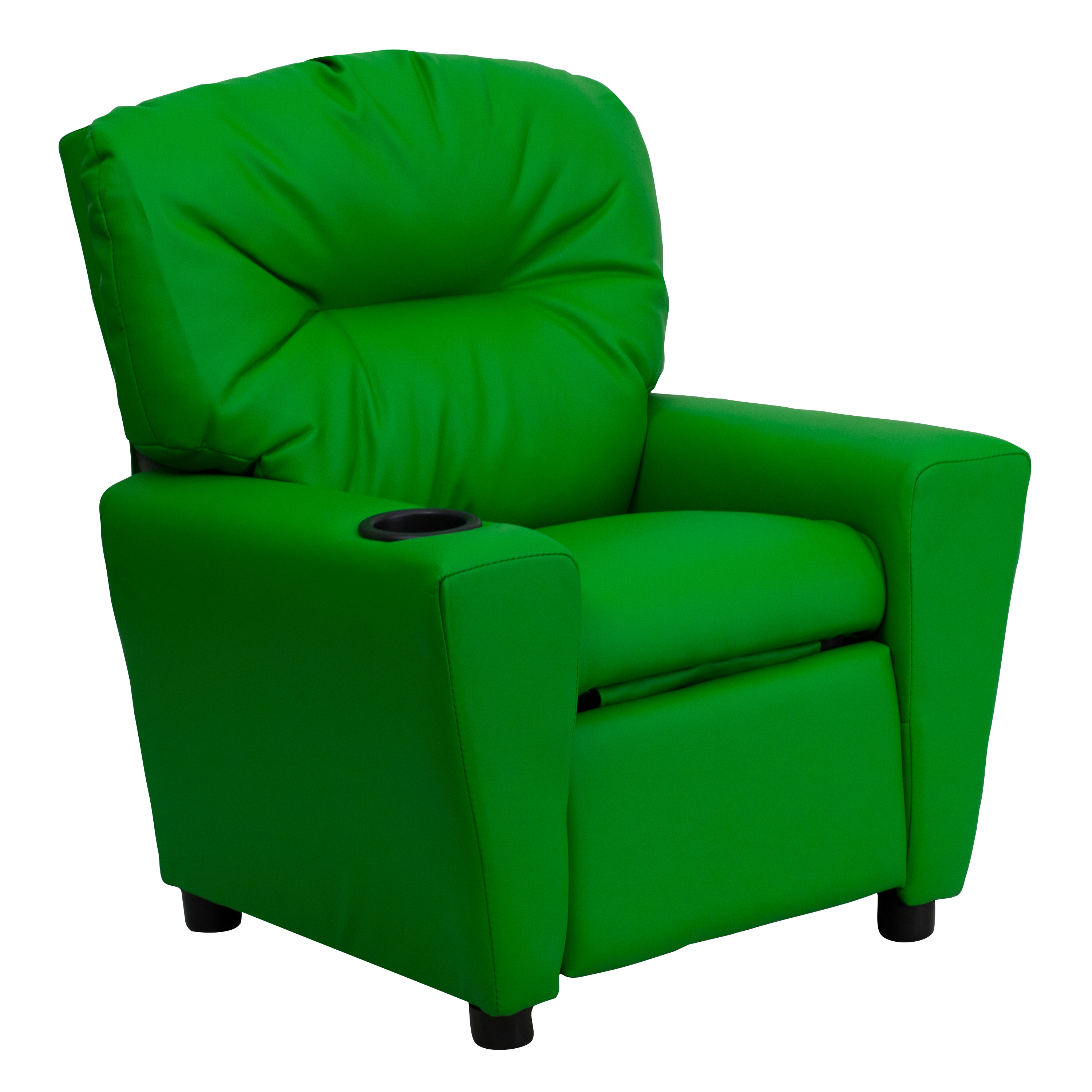 floor gaming rocking chair executive leather shop flash furniture contemporary green vinyl kids recliner with cup holder - free shipping ...