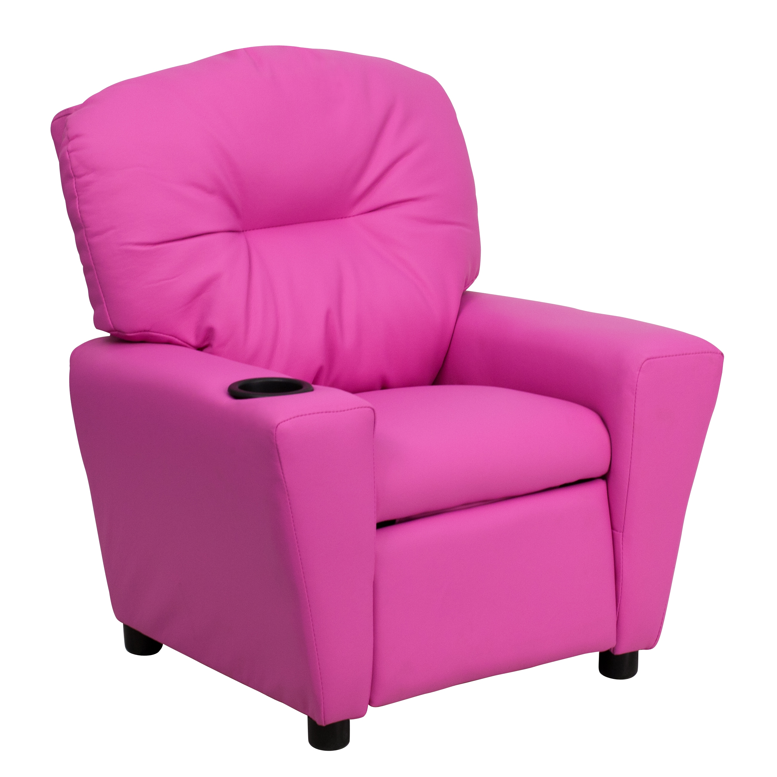 overstock com chairs marine boat flash furniture contemporary hot pink vinyl kids recliner