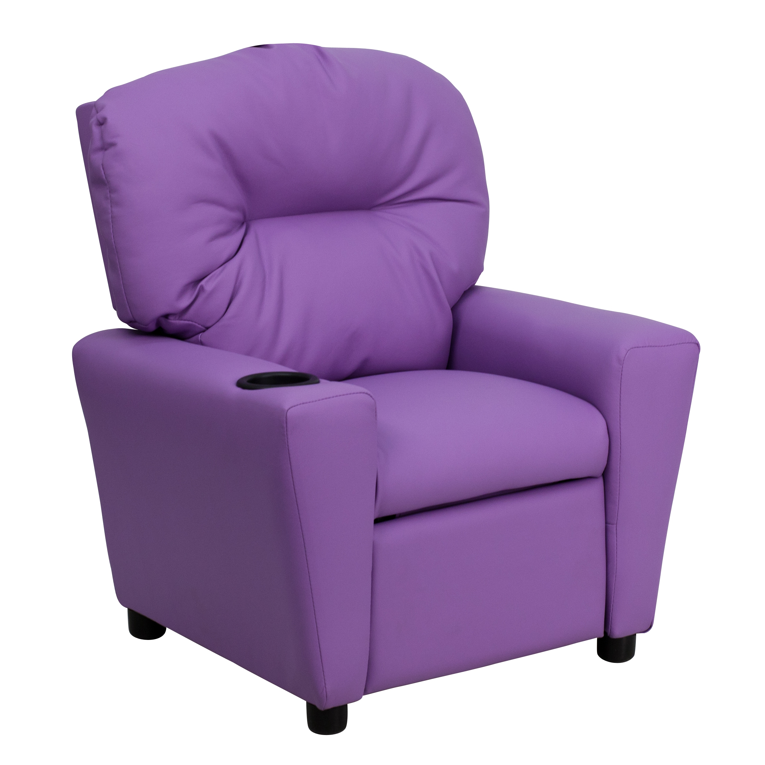 Kids Reclining Chair Shop Flash Furniture Contemporary Lavender Vinyl Kids