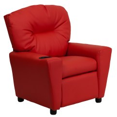 Kid Chairs Game Chair Best Buy Flash Furniture Contemporary Red Vinyl Kids Recliner With