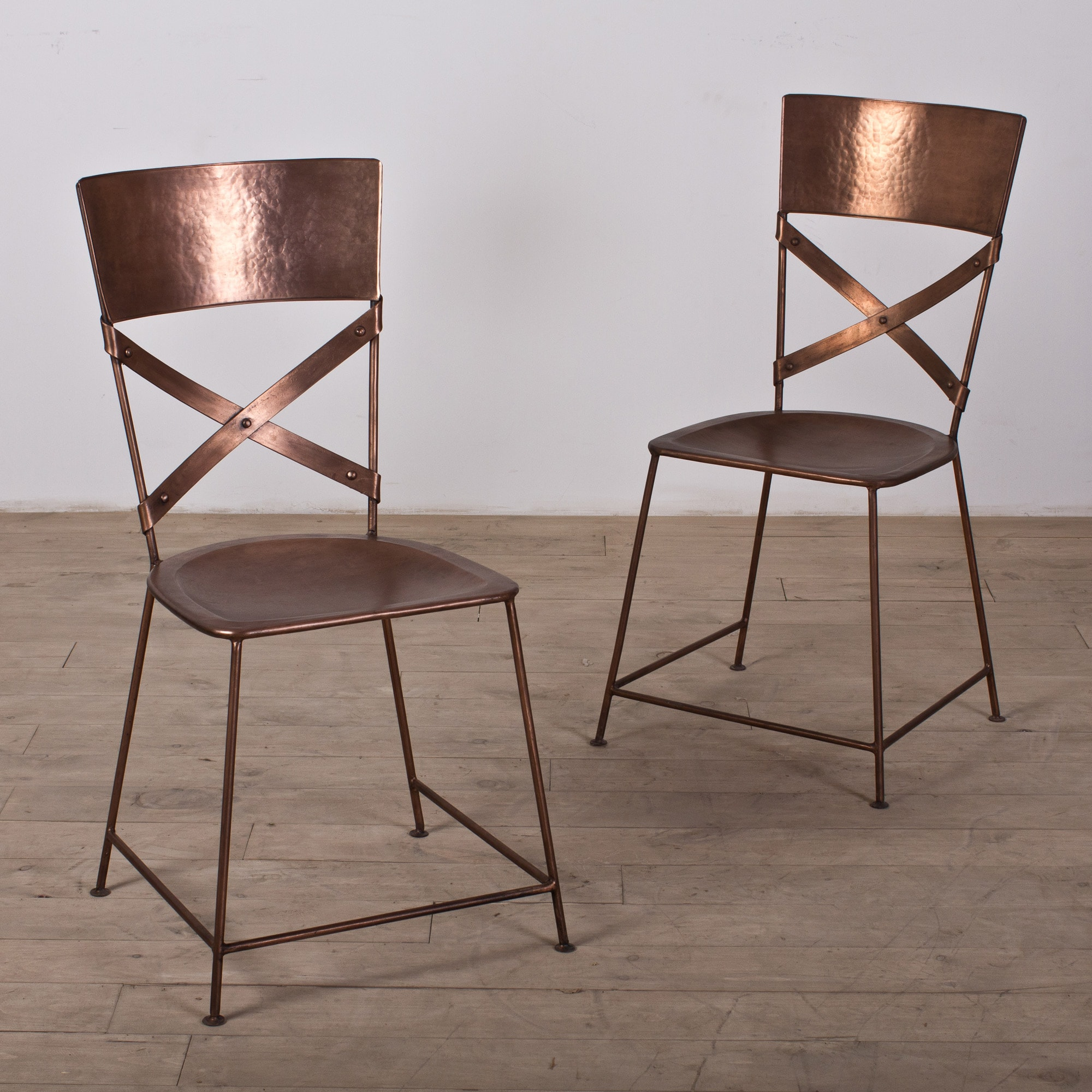 overstock com chairs fishing chair accessories set of two jabalpur dining copper india