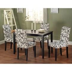 Overstock Com Dining Room Chairs Wedding Chiavari Simple Living Sophia 5 Piece Parson Set