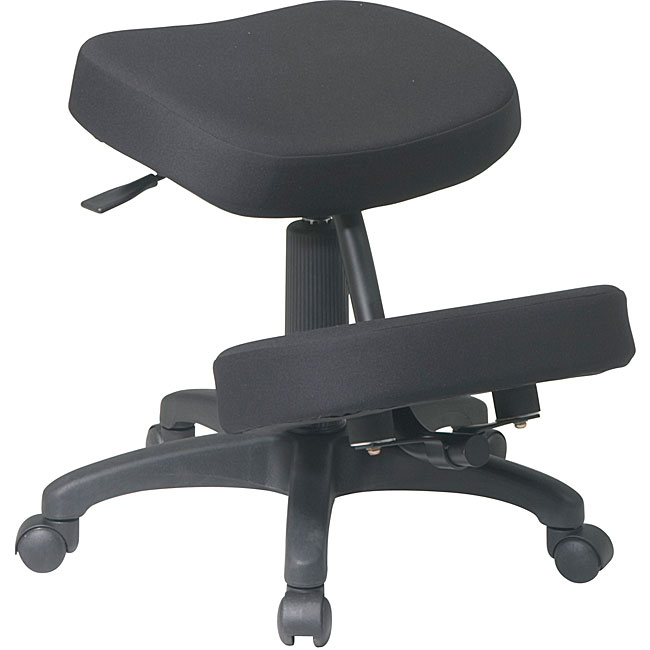 ergonomic chair knee rest pillow for bed shop office star ergonomically designed with 5 base