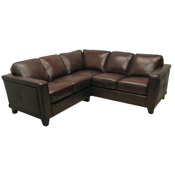 leather sectional sofas cheap sofa sleeper sets shop emerson brown italian ships to canada