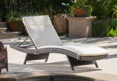 Brown Outdoor Chair Cushions