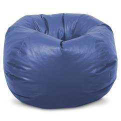 Blue Bean Bag Chairs Mobile Nail Table And Chair Beansack Kids Royal Vinyl Free Shipping On