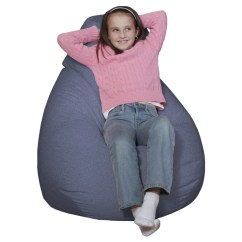 Denim Bean Bag Chair Baby Trend High Recall Beansack Ultra Twill Lounge Free