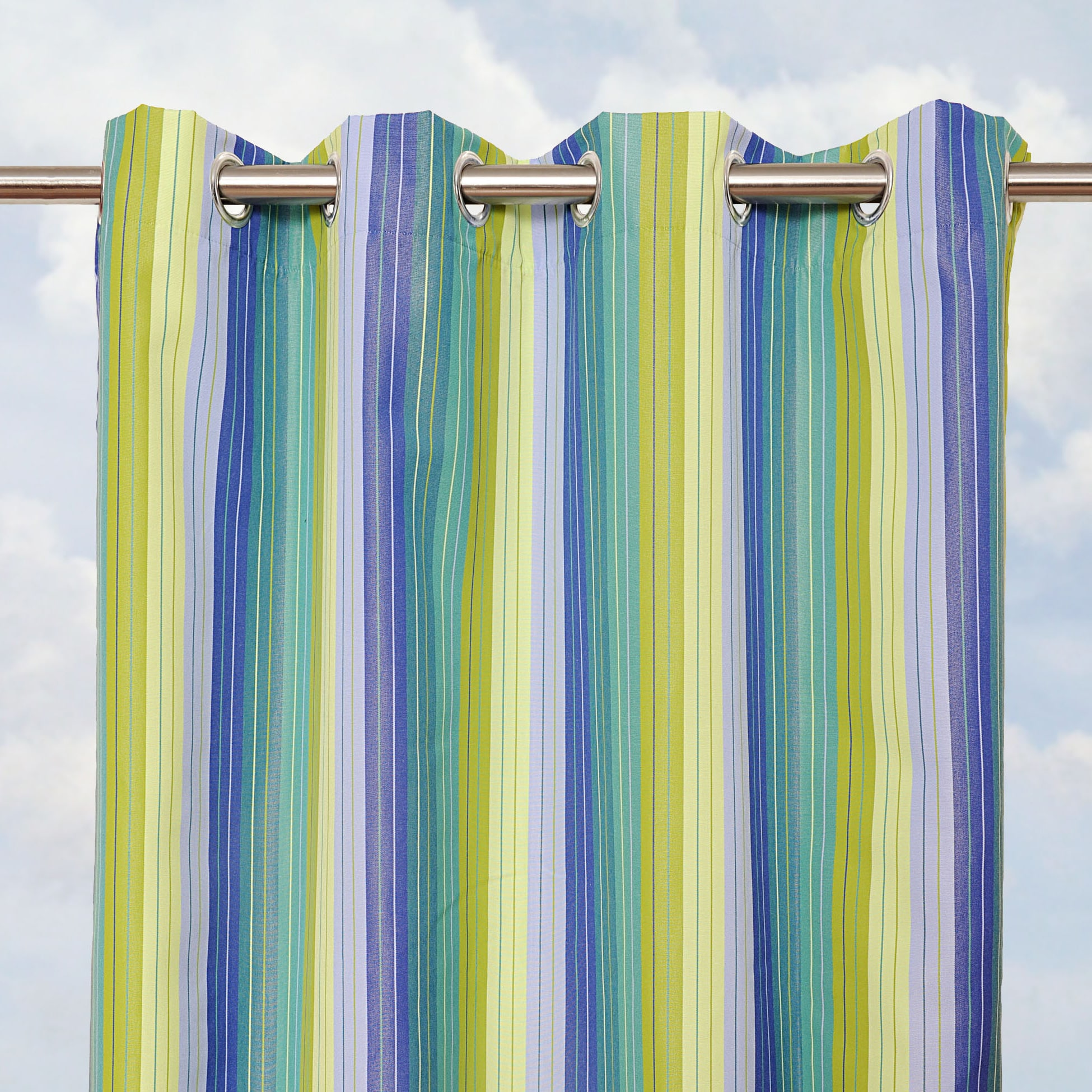 home garden sunbrella bay view seaside inch outdoor curtain panel product l