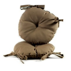 16 Inch Round Chair Cushions Desk Chairs On Wheels Brown 17 Indoor Outdoor Bistro Cushion