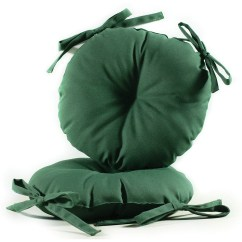 16 Round Chair Cushions Green Covers Weddings 17 Inch Indoor Outdoor Bistro Cushion
