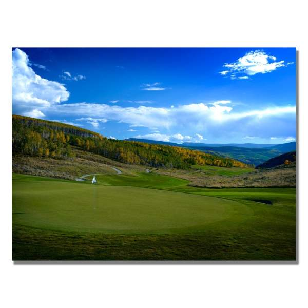 'golf 5' Contemporary Canvas Art - Free Shipping Today 6761294