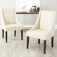 Arm Chairs For Sale Garden Chair Accessories Shop Safavieh En Vogue Dining Sloping Cream Set Of 2