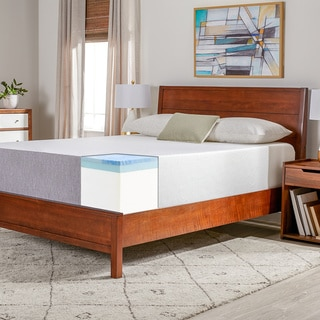 Select Luxury Medium Firm 14 Inch Queen Size Gel Memory Foam Mattress