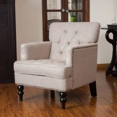 Christopher Knight Club Chair Swing Steel Home Malone Beige