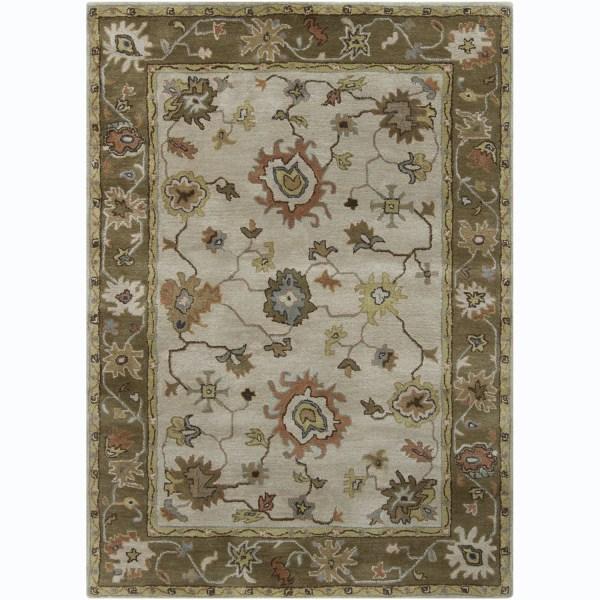 Hand-tufted Bajrang Oriental Wool Rug 9' X 13'