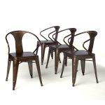 I Love Living Vintage I Love Living Stacking Chairs Set Of 4