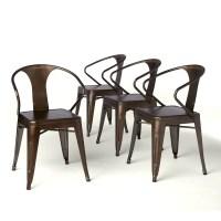 Shop Tabouret Vintage Tabouret Stacking Chairs (Set of 4 ...