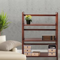 Folding Stackable Bookcase 27.5W - 14369113 - Overstock ...