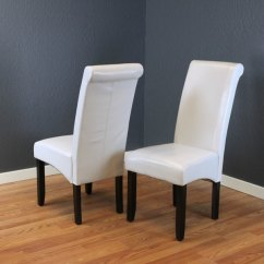 Grey Dining Chairs Retro Room Table And Shop Milan Faux Leather Cloud Set Of 2 Free Shipping Today Overstock Com 6911644