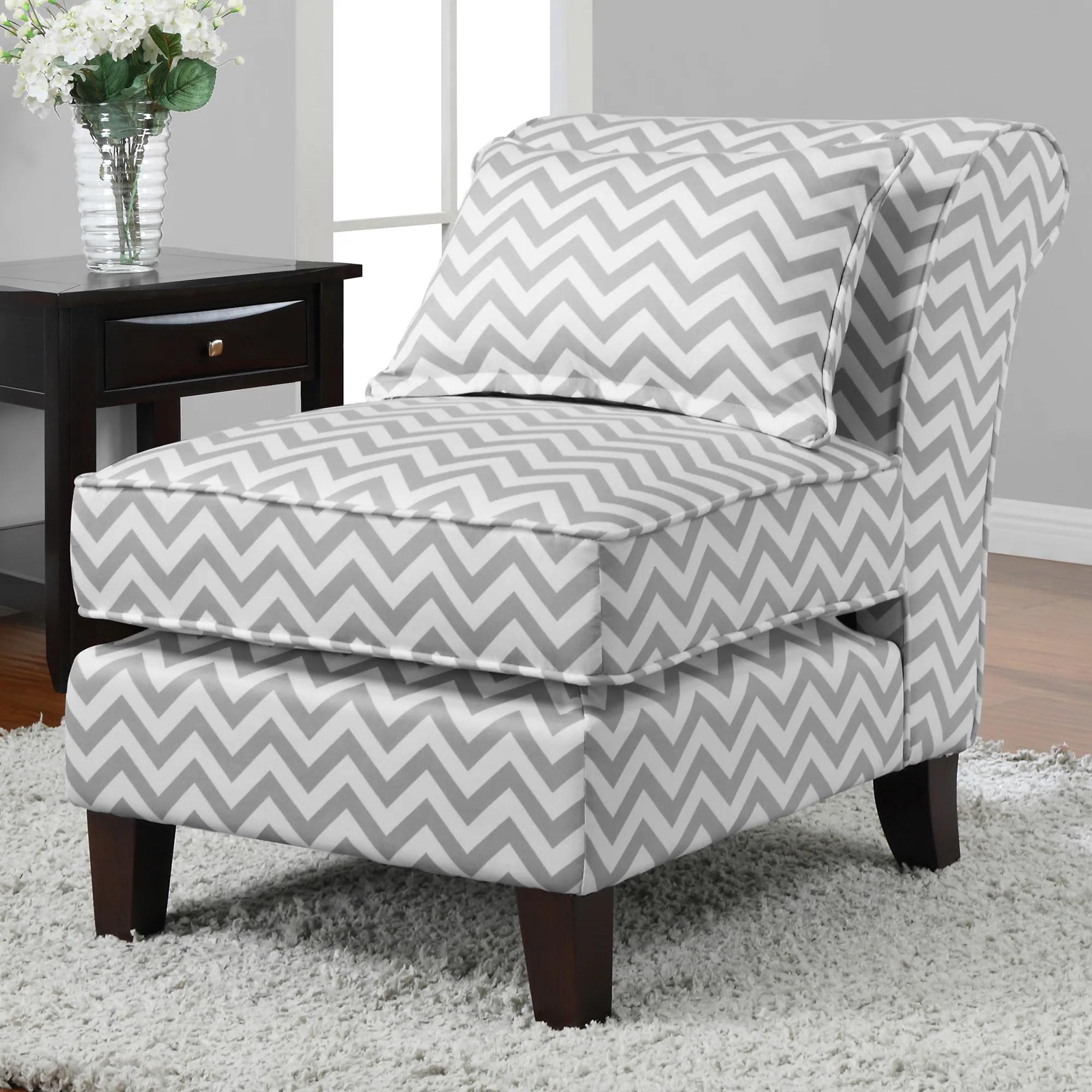 gray chevron chair mesh task grey white print slipper overstock