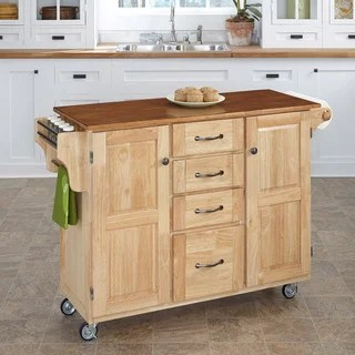 oak kitchen cart pictures buy carts online at overstock com our best gracewood hollow defoe natural finish 4 drawer